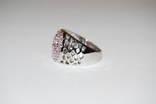 Other Pink Topaz Silver Ring Sz 7