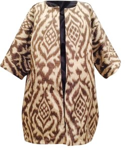 Other Animal Print Brown Jacket