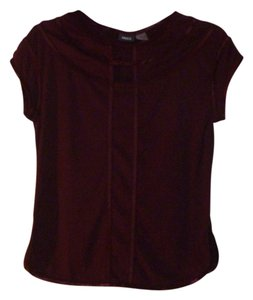 Mexx Cut-out T Shirt Maroon