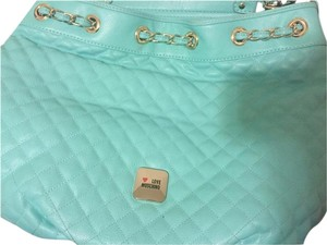 Love Moschino Satchel in Green