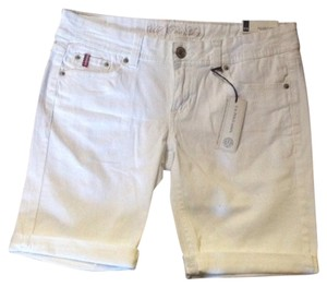 U.S. Polo Assn. Cuffed Shorts White