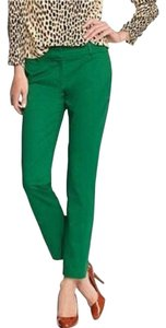 J.Crew Pants Cafe Capris green