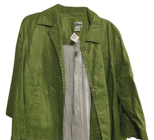 Chico's Shine GREEN Jacket