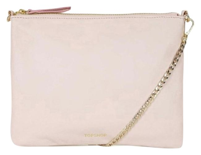 Item - Chain Pink Leather Cross Body Bag