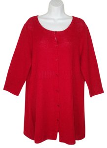 Eileen Fisher Tunic Hemp Knit Cardigan