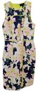 J.Crew short dress Multi/Print Floral Scuba on Tradesy