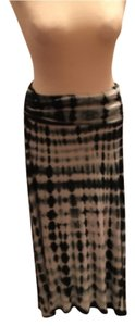 Cynthia Rowley Maxi Skirt Black and White