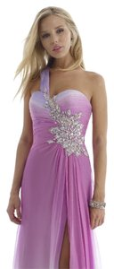 Morrell Maxie Chiffon Prom Evening Sleeveless Size 4 Dress