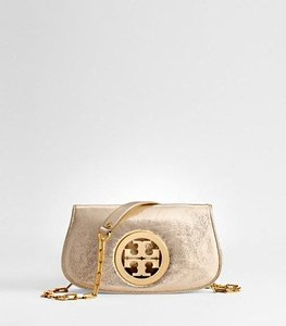 Tory Burch Golden Clutch