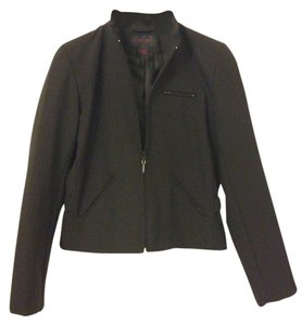 Ralph Lauren Nylon Dryclean Only Polyester Black Jacket