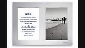 Kate Spade New York Darling Point Double Invitation Frame.