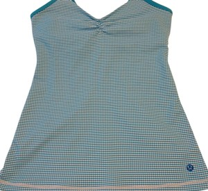 Lululemon Top Blue Gingham