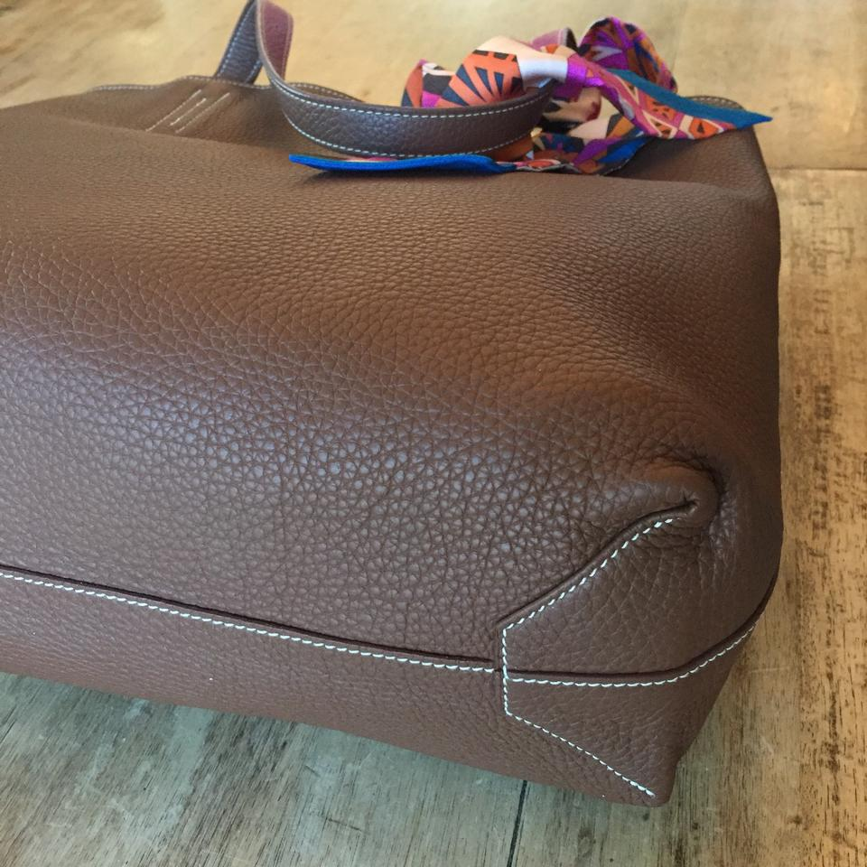 bag knockoffs - Herm��s Double Sens Reversible In Clemence Leather Pink / Brown ...
