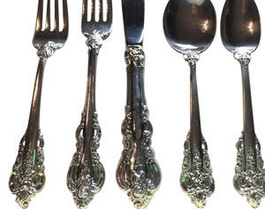 Eight Place Settings Of Sterling Silver: El Grande By Towle
