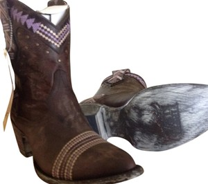 Old Gringo Short Chocolate Boots