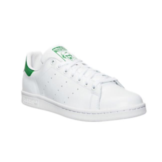Item - White/Green Stan Smith Sneakers Size US 7.5 Regular (M, B)