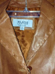 Wilsons Leather Light Brown Jacket
