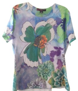Peck & Peck T Shirt Green multi