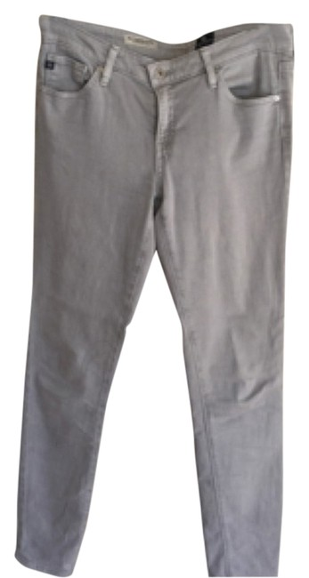 Item - Light Gray Wash The Legging Ankle Skinny Jeans Size 27 (4, S)
