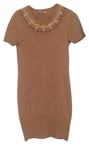 Moschino short dress Light brown on Tradesy
