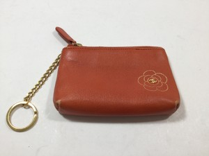 Chanel Chanel Orange Coin Purse