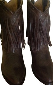 Old Gringo Fringed Brown Boots