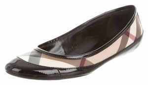 Burberry Brown Black Multicolor Brown, Black, Beige Flats