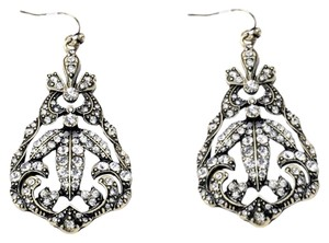Vanity Crystal Chandelier Earrings