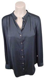 H&M Feminine Sophisticated Satin Top black