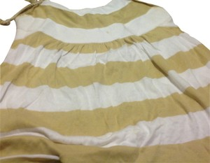 Gap Halter Empire Waist Brand Like New Beige no white stripe Halter Top