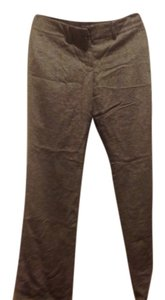 The Limited Trousers Relaxed Pants Brown tweed style