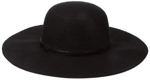 Rampage RAMPAGE Women's Felt Floppy Hat with Faux-Leather Trim One Size $72