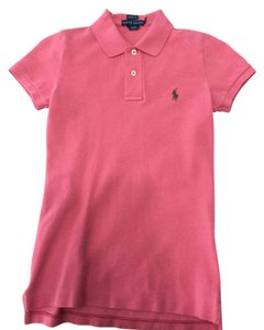 Ralph Lauren Polo Skinny Fit Button Down Shirt Coral