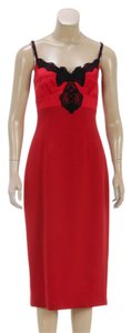 Charles Chang Lima short dress Red on Tradesy