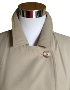 Giorgio Armani Trench Designer Light Tan Jacket