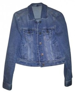 American Eagle Outfitters blue, denim Womens Jean Jacket