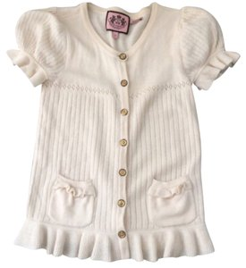 Juicy Couture Button Down Shirt Cream