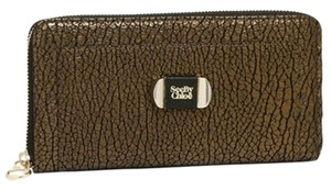 See by Chloé See By Chloe Metallic Brown And Gold Continental Wallet