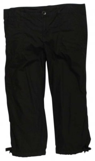 Preload https://item5.tradesy.com/images/norma-kamali-black-cropped-cargo-pants-size-8-m-29-30-128004-0-0.jpg?width=400&height=650