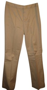 Banana Republic Boot Cut Pants khaki with striped