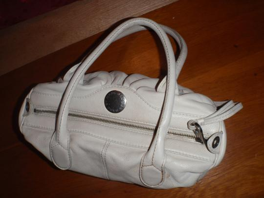 Marc by Marc Jacobs Shoulder Purse Handbag Evening Satchel in white