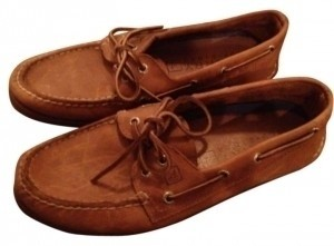 Sperry Tan/Brown Flats