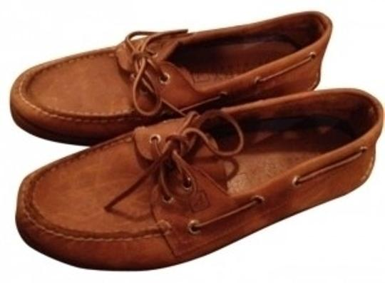 Preload https://item4.tradesy.com/images/sperry-tanbrown-leather-dockboat-flats-size-us-8-128028-0-0.jpg?width=440&height=440