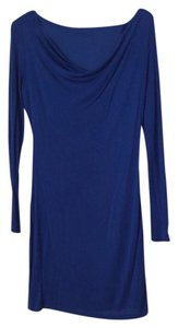 Soprano short dress Blue on Tradesy