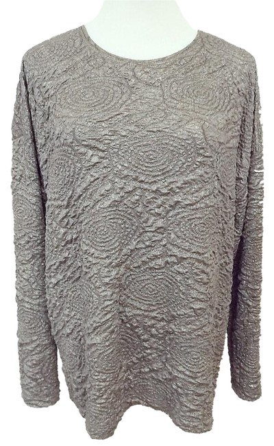 Item - Special Collection Gray Stretch Silver Light Gunmetal Top