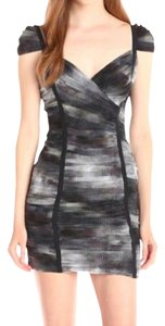 BCBGMAXAZRIA Grey Dress