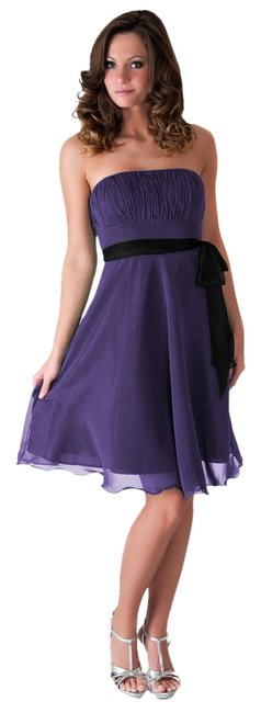 Preload https://item1.tradesy.com/images/purple-strapless-chiffon-pleated-bust-knee-length-cocktail-dress-size-20-plus-1x-1280420-0-0.jpg?width=400&height=650