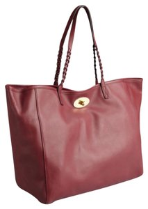 0a0729844085 Added to Shopping Bag. Mulberry Tote in Burgundy. Mulberry Black Forest  Burgundy Soft Nappa Leather Tote