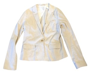 Joie White and tan Jacket