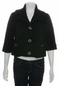 Burberry Black Bb.ej0122.24 Cotton Cardigan